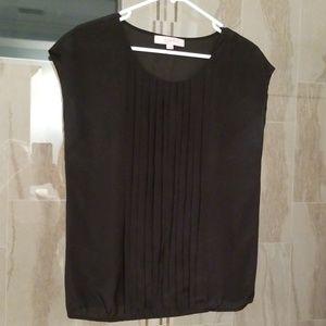 Loft blouse, black.